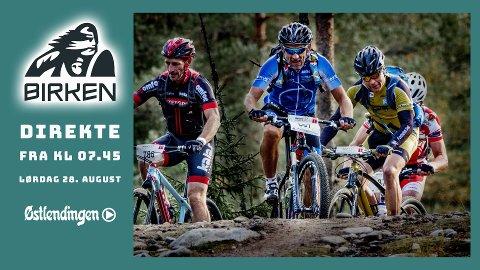 Birkebeinerrittet er et viktig mål for mange ivrige syklister, men også for mosjonister som har lyst på en utfordring.