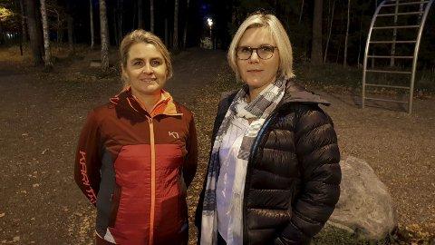Bli med på trimmen!: Heidi Stenehjem og Lise Almquist Bjørge håper mange vil hive seg på tilbudet som etter hvert kommer. Foto: Arne Johan Furseth