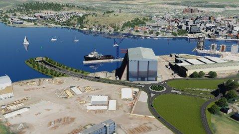TUNNEL: 28 stemmer for- og 19 i mot tunnel-løsningen, dette ble konklusjonen av Færder kommunestyres votering over ny fastlandsforbindelse.