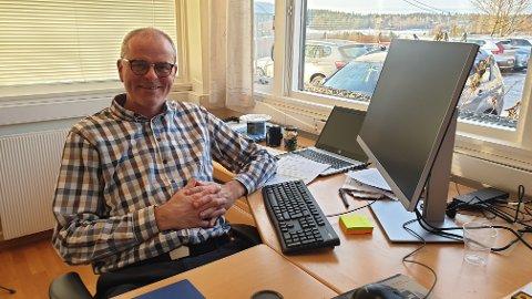 Jon Sanness Andersen kutter i egen ordførerlønn for å gi større handlingsrom i det trange Færder-budsjettet for 2020.