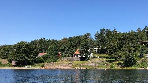 Her er eiendommen hvor paret fra Horten planlegger en del endringer.