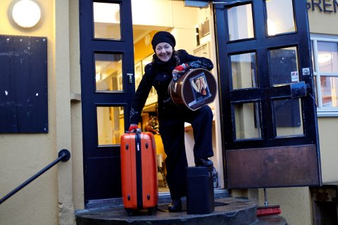 Geddy Aniksdal setter kursen for Ælvespeilet førstkommende torsdag.