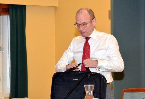 Forsvarer Jan Erik Granmo la ned påstand om at den drapstiltalte ikke må dømmes til tvungent psykisk helsevern.