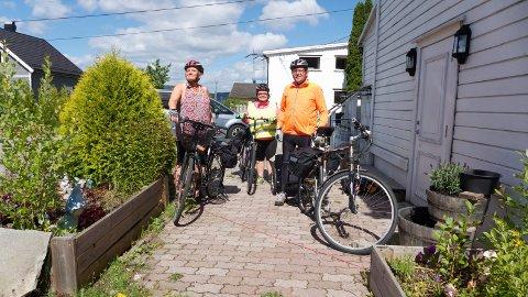 Hilde, Hanne og Asle Arne Løvli fra Herøya skal sykle helt til Danmark for en god sak. Allerede har de klart å samle inn 8000 kroner til forskning på epilepsi.