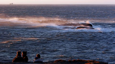 STORM: Rognsfjorden i 2007.