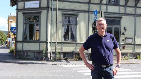 – BESTE JEG VET: Ole Holmen (66) syns jobben på Evangeliesenteret er det beste han vet.