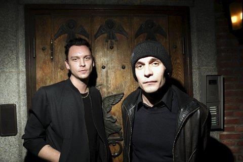 STOR FREMGANG: Johan Larsson og Knut Oscar Nymo har gjort det skarpt etter oppveksten i Rakkestad, og spiller i dag et av Norges mest populære band.