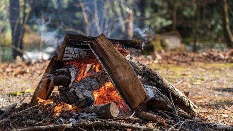 UNNGÅ NØDVENDIGE FARER: Det er oppfordringen til brannvesenet som melder om gult og oransje farenivå på skogbrannindeksen.