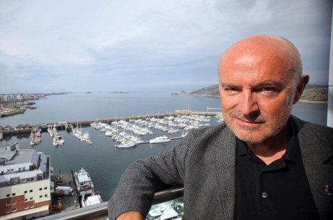 Regiondirektør i NHO Nordland, Ivar Kristiansen, er skremt over måten riksmedia kjører debatten om formuesskatt. Foto: Siri Gulliksen