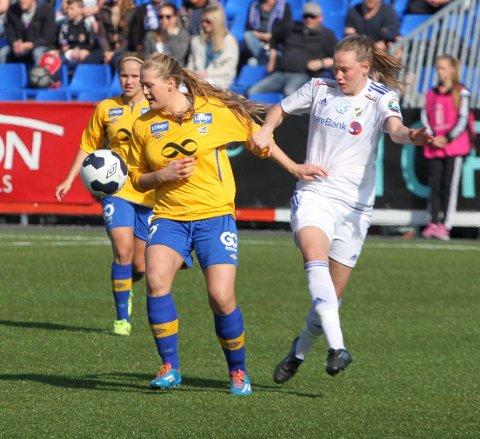 Lisa-Marie Karlseng Utland har hatt en god sesong i Trondheims-Ørn, og om åtte dager er det også cupfinale.