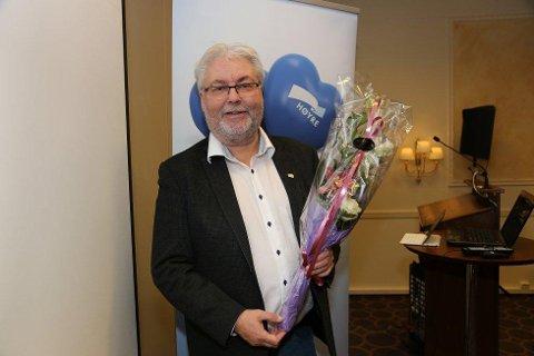 Ordfører Kai Henriksen i Rana kommune er Nordland Høyres nye toppkandidat til fylkesvalget neste år. Foto: Espen Halvorsen Bjørgan