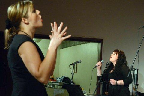 """Solist Lisa Bolin Lien viste fram stemmeprakten på låten """"Mercedes bens"""" fra Janis Joplin."""