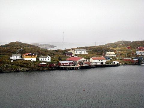 Myken har vært uten båtforbindelse i snart en uke. Foto: Kjell-Arne Jørgensen