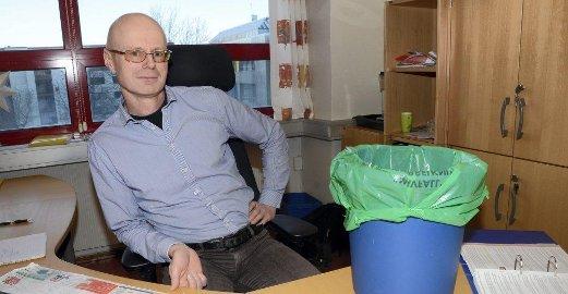 LAVERE PRIS:  Vi benytter oss av en ny type for anbudsform når vi skal avklare hvem som får jobben med å håndtere det kommunale avfallet i årene som kommer. Dette gjør vi for betale minst mulig, sier innkjøper Tore Kolstad i Rana kommune. Foto: Arne Forbord