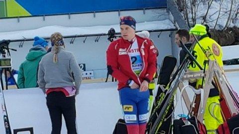 Fredrik Gjesbakk vet han har en jobb å gjøre for å lede Norge til stafettmedalje.