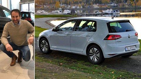 Har du en brukt VW e-Golf i garasjen? Da har du sannsynligvis gjort en god investering, sier Morten Altmann i Norsk Bilpool.