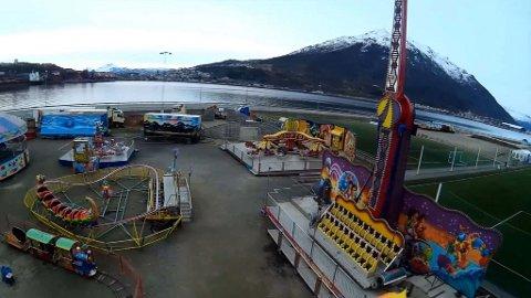 OVER OG UT: Sist Lindströms var i Nord-Norge var i fjor, men det var altså siste gang. Bildet er fra Narvik.