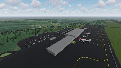16 grunneiere må gi fra seg deler av sin eiendom for at en stor flyplass på Hauan skal bli en realitet.