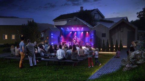 Planer: Kulturarena Lapphella ble presentert av Robin Söderkvist ved Tanken Arkitektur.