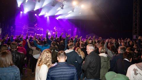 Ifjord 2018 ble Ifjords første og siste festival. Arkivbilde
