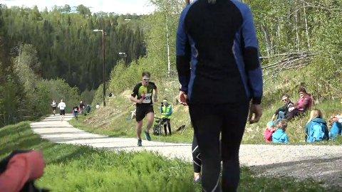 Vegard Nerdal løp 4. etappe for Oksskolten IL.
