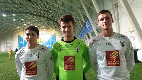 Tre spillere fra Mosjøen IL kan være på vei til Rana FK. Sander Heia Myrvang (t.v.) er allerede klar, mens keeper Jon Magnus Tangen og Sindre Ånes vil ta en beslutning innen kort tid.