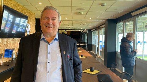 Ernst Pedersen husker godt kampen på Sagbakken, og er glad for at Vålerengen var heldige i sluttminuttene. Foto: Stian Høgland