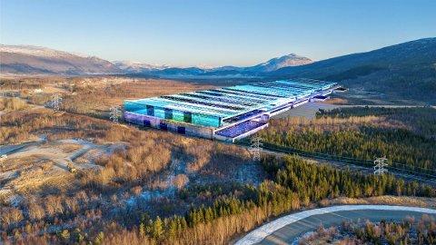 Unik mulighet: Like nord for Fauske ønsker totalt elleve kommuner i Salten at det bygges en svær batterifabrikk hvor totalt 2000 mennesker skal jobbe. Prosjektet omtales som en sjeldent god mulighet med tanke på tilflytting og ringvirkninger.