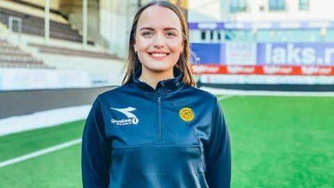 Vilde Hiller Rasmussen fra Hemnes ble i mars ansatt som markedsansvarlig i Bodø/Glimt.