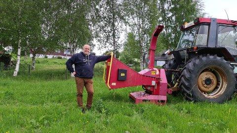 Kjell Harald Nessengmo starter Nessengmo Hogst AS på Bjerka.