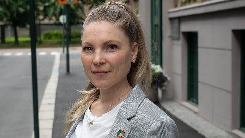 Liv Marie Bendheim, kampanjeleder i Ung i Trafikken.