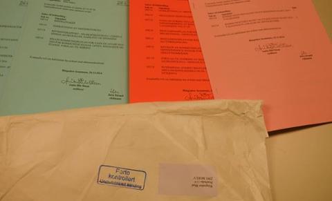 FLERE DAGER FORSINKET: Når dokumenter er tre virkedager forsinket, gjør det sitt til at to kommunale møter må utsettes ei uke.