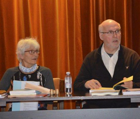 TOK STYRINGEN: Setteordfører Ragnhild Myklebust og settevaraordfører Geir Roger Borgedal, begge Ap.