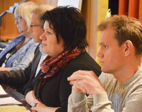 GODT BUDSJETT: Varaordfører Geir Roger Borgedal og ordfører Anita Ihle Steen, Ap, var godt fornøyd med rådmannens budsjett.