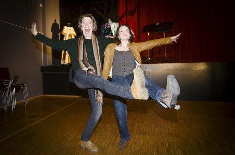 Lokale operastjerner: Både Anna Sundstrøm Otervik og Tanja Leine blir å se og høre i Carmen som settes opp til høsten.