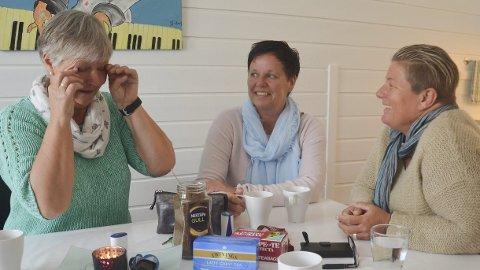Lyktes: Marit Wiken og Ellen Høisveen ble en del av et poilotprosjekt Siri Christensen og Klima, kurs i livsstilsendring for matavhengige, står bak. Det har gitt begge to en varig endring og et nytt syn på livet. – Det har blitt mange tårer, sier Wiken.Foto: Jeanette Sandbæk Håland