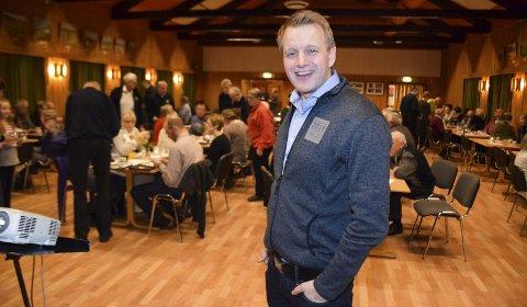 Profilert: Tomas Holmestad blir ny styreleder i Birken.  Her fra et møte på Brøtheim hvor han informerte om ungdoms-OL på Lillehammer.