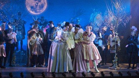 Trøbbel: Årets operaforestilling har fått svært god omtale. Men den elektroniske bilettbestillingen får negativ kritikk.