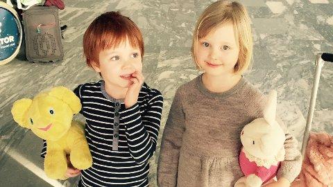 Rundt tusen søknader kom inn og flere hundre barn inne til casting. Valget falt til slutt på fem år gamle Alba Ørbeck-Nilssen og seks år gamle Oliver Dahl fra Brumunddal. Foto: Cinenord kidstory.