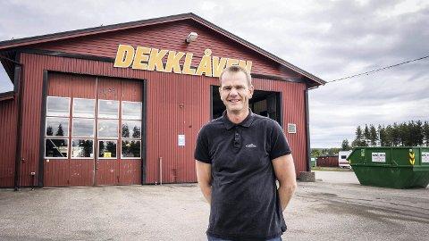 Tommy Holmvik i Dekklåven