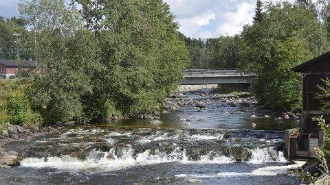 Tiltak: I kulpen ved Streket skal det etableres nye terskler på elvebunnen. Foto: Ivar Bae