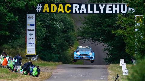 Mads Østberg og Ola Fløene endte på sjetteplass i Rally Tyskland.