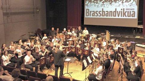 Konsert: Brassbandvikua har dannet ungdomsbrassband. I løpet av sesongen arrangeres tre seminarhelger for unge musikere.Arkiv