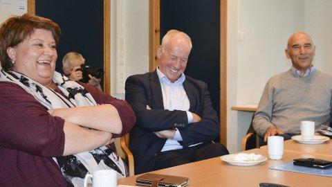 Anita Ihle Steen, Arthtur Buchardt og Knut Hage