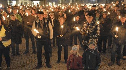 Demonstrasjon: Rådman Jørn Strand mener at en markering på torget fra SIAN bryter med hovedformålet bak torget, å skape samhold.