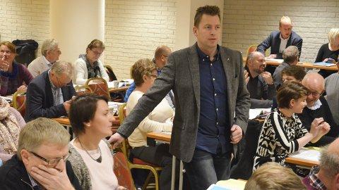 Ber om møteflytting: Hans Kr. Arnkværn, uavhengig ber om omberammelse av kommunestyremøtet 31. mai, fordi både han og flere Frp-ere skal møt ei retten denne datoen.