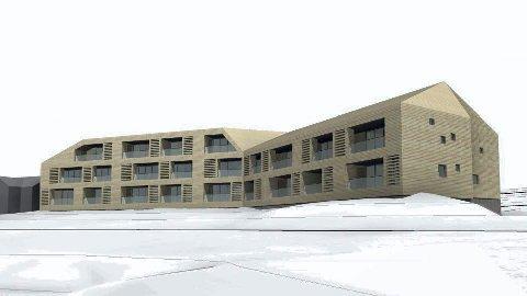 Prisene starter på 2.990.000, og den dyreste leiligheten koster altså 5.300.000 kroner. Illustrasjon.