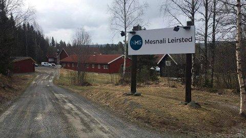 Mesnali leirsted brukes som senter for leteaksjonen etter Stig Ingar Evje.