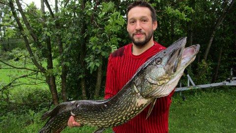 Herlig fangst for Øystein Vinjusveen