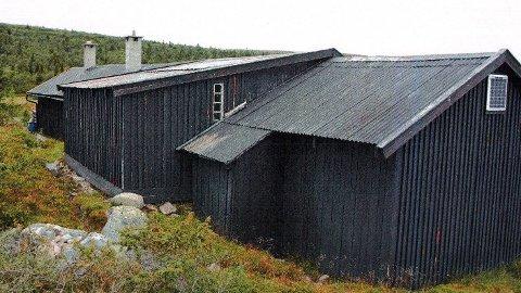 Ny hytte: I fjor høst kjøpte Hamar og omegn Turistforening denne hytta ved Øyungen. Den ønsker de å rive, for så å bygge nytt.